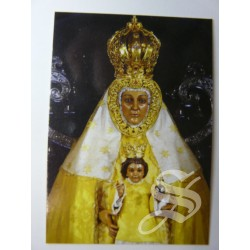 ESTAMPA VIRGEN DEL PRADO CARTON 7 X 9