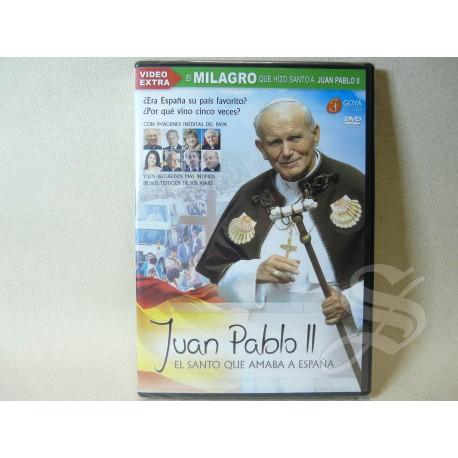 DVD JUAN PABLO II EL SANTO QUE AMABA ESPAÑA.