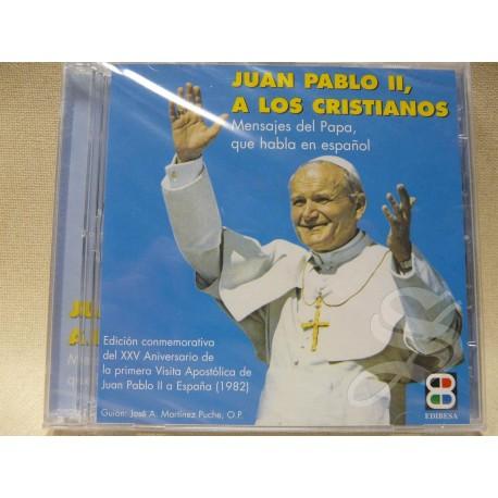 JUAN PABLO II CD A LOS CRISTIANOS