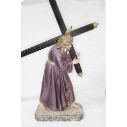 JESUS DEL GRAN PODER 50 CM. 2ª 3T PASTA DE MADERA
