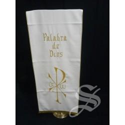 CUBRE AMBOM BLANCO PALABRA DE DIOS + 802