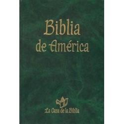 BIBLIA DE AMERICA, MANUAL
