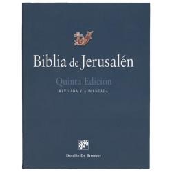 BIBLIA DE JERUSALEN. 5ª EDICION MANUAL TOTALMENTE REVISADA - MODELO 1