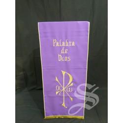 CUBRE AMBOM MORADO PALABRA DE DIOS + 802
