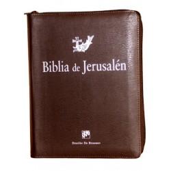 BIBLIA DE JERUSALEN 4ª EDICION MANUAL TOTALMENTE REVISADA - FUNDA DE CREMALLERA