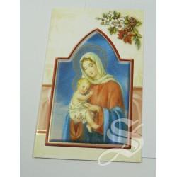 CRISMA NAVIDAD RELIGIOSO 9,5 * 13,5 DOBLE CON SOBRE
